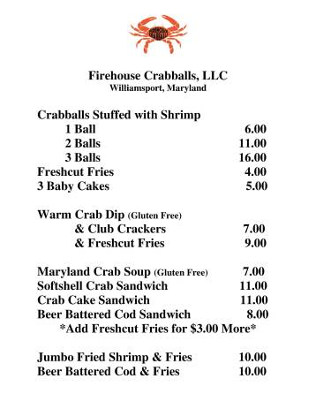 firehouse crab menu